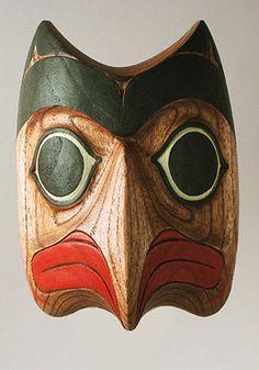 Native American bird mask, Tlingit people