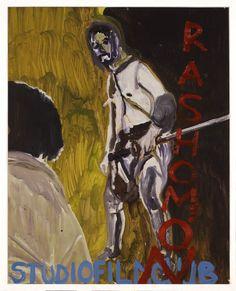 """RASHOMON""  2005 [""Rashomon"" J 1951, 88', R / D: Akira Kurosawa] Sammlung Ringier oil on paper 73 x 58 cm / 29 x 23"" PETER DOIG."