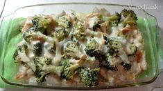 Zapekané topinambury s brokolicou - Recept