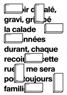 ECAL - STUDIES - BACHELOR - GRAPHIC DESIGN - Projects & workshops - Ecrire l'espace