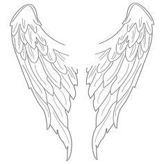 Angel Wings Wall Sticker
