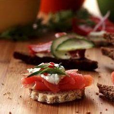 Alaska Seafood Marketing Institute (ASMI) Alaska Smoked Salmon Appetizer