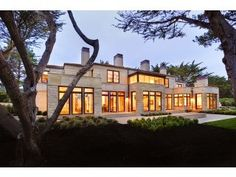 Love this house. Great Pebble Beach home. California Getaways, Indoor Outdoor Living, Pebble Beach, Maine House, Home Theater, Beach House, Family Room, Vacation, Mansions