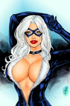 Black Cat by Mariah Benes by winchester01.deviantart.com on @deviantART