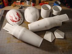 The Clone Wars Jedi General Armor Project