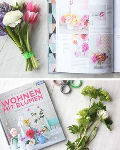 wohnen mit blumen diy tütenvase waseigenes blog - book review in german http://www.waseigenes.com/2014/03/19/diy-tuetenvase-wohnen-mit-blumen/