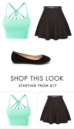 """Kira made this"" by aj-horan03 ❤ liked on Polyvore featuring LE3NO"