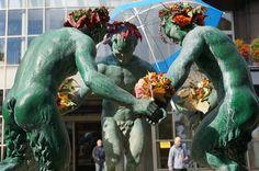 Jesień w Gliwicach w najnowszej odsłonie #gliwice #metamorfaunoza