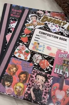 Cute Journals, Cool Notebooks, Luv Letter, A Level Art Sketchbook, Dream Journal, School Planner, Book Names, Journal Aesthetic, Scrapbook Journal