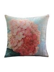 Retro Floral Pattern Decorative Pillowcase