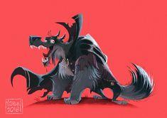 Wolf Vampire Character Design on Behance