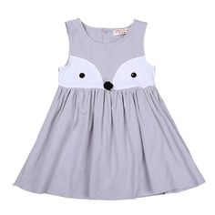 * Cute fox design<br /> * Buttons at back<br /> * Material: 95% Cotton, 5% Polyester<br /> * Machine wash, tumble dry<br /> * Imported