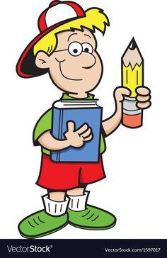 Cartoon Boy vector image on VectorStock Cartoon Crossovers, Cartoon Characters, Fictional Characters, Clipart Gallery, Cartoon Boy, Adobe Illustrator, Vector Free, Clip Art, English Class