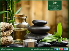 Drive the stress away with an exotic massage session at The Golden Palms Hotel & Spa.  Visit www.goldenpalmshotel.com for more details.#SpaGyaan