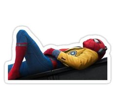 Tom Holland stickers featuring millions of original designs created by independent artists. Decorate your laptops, water bottles, notebooks and windows. Tom Holland, Cool Stickers, Printable Stickers, Spiderman Stickers, Homemade Stickers, Vsco, Aesthetic Stickers, Toms, Anime