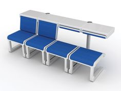Comfort Airport is an adjustable airport seating system that helps passengers pass time comfortably while waiting for their flights. Designer: Kwon Jin-Seok. Comfort Airport is a 2012 red dot award: design concept winner.