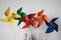Airplane Party Favors How much fun to add pinwheels to any party or get together!! When you purchase this listing you will be receiving these 12