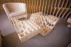 zmianatematu. Coffee Table by Mateusz Wójcicki, via Behance