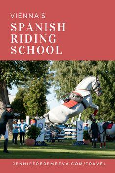 The Spanish Riding School: Vienna's Dancing Horses Spanish Riding School, Types Of Horses, Prague, Vienna, Budapest, Dancing, Europe, Travel, Viajes