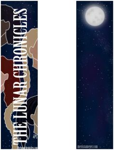 My entry for the lunar chronicles bookmark contest.