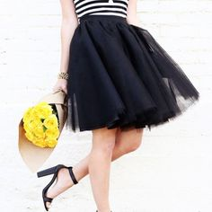 Learn how to make this cute tulle circle skirt!