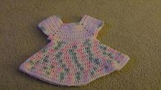 Craftdrawer Crafts: Best Crochet Dress Pattern for Baby - Free Crochet Baby Dress Pattern