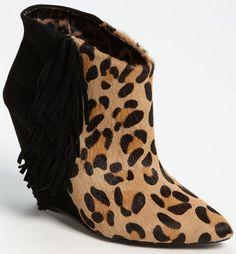 Betsey Johnson 'Ziah' Boot in Leopard