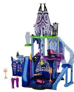 Monster High Freaky Fusion Catacombs Playset IN HAND Play Set Just Released