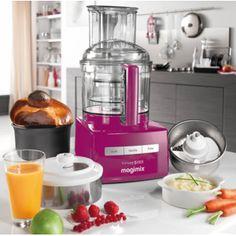 Magimix 5200xl Premium Food Processor with Juicer Pink