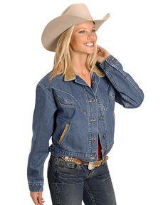 Schaefer Chisholm Denim Western Jacket