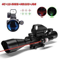 U-ZM Riflescope C4-12x50eg Dual Illuminated Optical Rifle Scope for Hunting+tactical Red Dot Sight Scope+red Laser Sight for Shotgun U-ZM http://www.amazon.com/dp/B016WJREEM/ref=cm_sw_r_pi_dp_Tm38wb1YT808R
