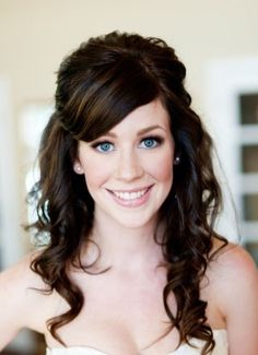 Bridal Hairstyles With Veil | Bridal Hairstyles for Long Hiar with Veil Half Up 2013 For short hair ...