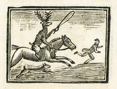 English printer. The World Turned Upside Down. c. 1820s. woodblock print.