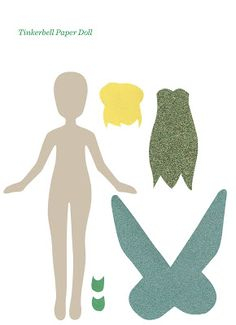victorious archive: TINKERBELL PAPER DOLLS