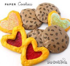 DIY Paper Cookies -