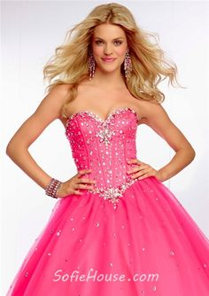e31722eb6a Ball Gown Sweetheart Orange Tulle Beaded Crystal Quinceanera Prom Dress  Corset Back Prom Dresses 2015
