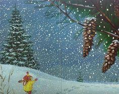 CHILDREN'S ILLUSTRATION: Snow Day!