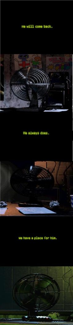 I KNEW IT!!!! Fan... I said it all the time when playing but guess what? You wouldn't admit it. Now I know. You were the main source of my power drainage...