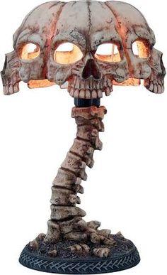 Nemesis Now Atrocity Skull Table Lamp