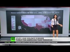 Gun violence towers over terrorism in death toll - YouTube