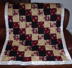 Seminole toddler blanket
