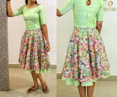 Skirt Floral Midi Patterns New Ideas Wedding Dresses For Girls, Dresses For Teens, Girls Dresses, Party Dresses, Kurta Designs Women, Salwar Designs, Lengha Blouse Designs, Frock Models, Ikkat Dresses