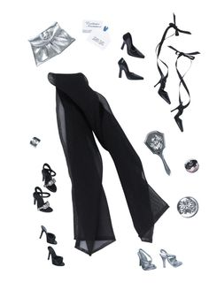 Barbie Back to Basics Basics Evening Accessory Pack Look 4 Collection 1