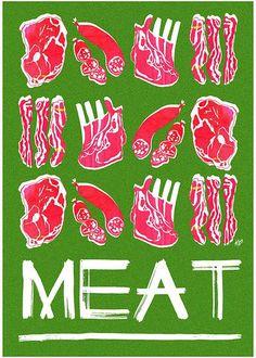 MEAT ~ Kim Thompson