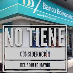 El #bancobolivariano no tiene consideración de las personas mayores en silla de ruedas. #pesimoservicio