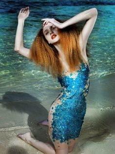 Mermaid dress. Amazing.
