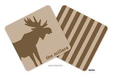picme!prints | Personalized Coasters | Chocolate Moose    www.timelessimp.printswell.com