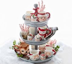 Christmas hot cocoa tray. I could do one of my own but with a Nisse instead of a Santa lol.  Aff