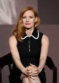 Jessica Chastain  #JessicaChastain The Pirelli Calendar Presents Peter Lindbergh On Beauty in NYC  13/02/2017 Celebstills J Jessica Chastain