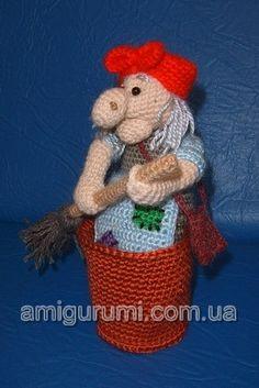 baba jaga tutorial crochet